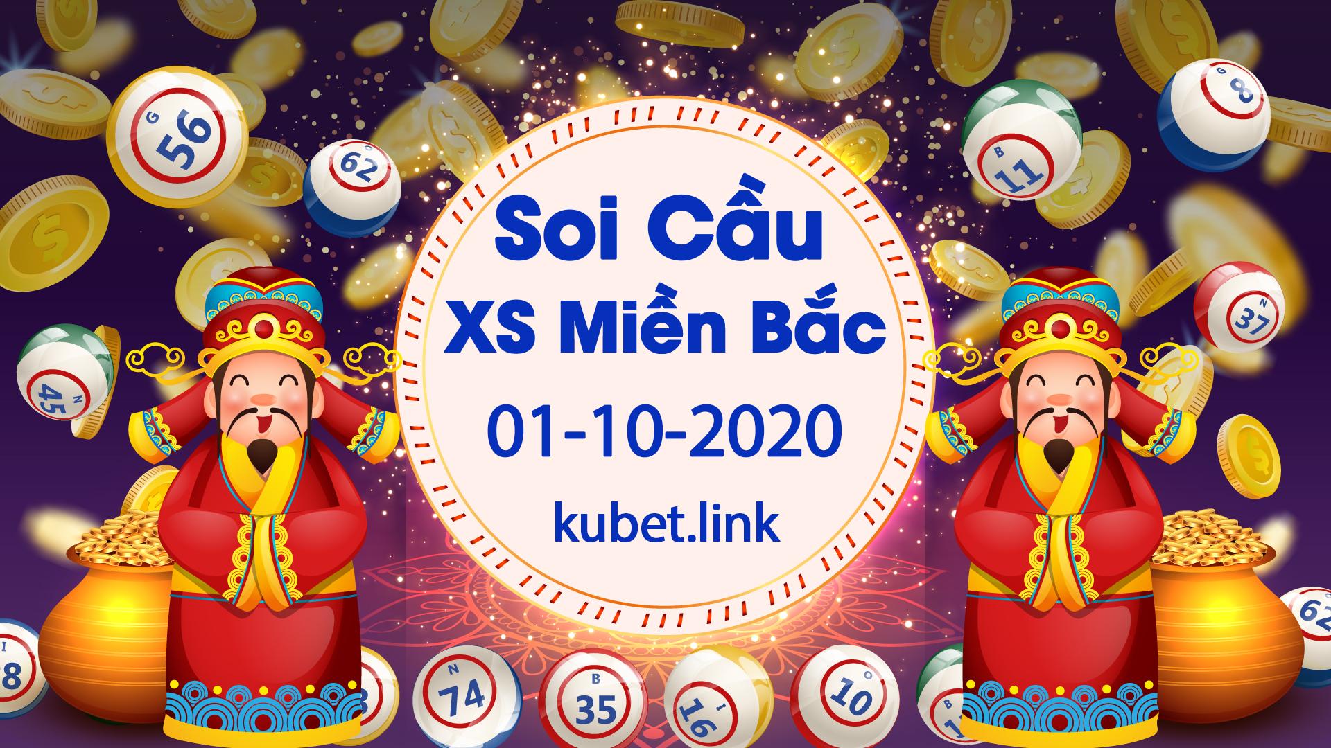 Soi cầu XSMB 01-10-2020