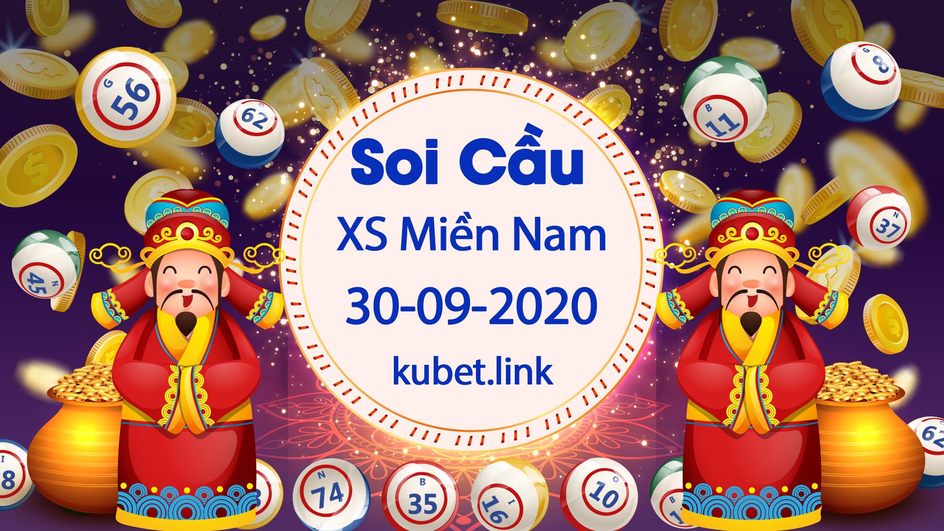 Soi cầu XSMN 30-09-2020